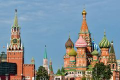 New views of the Moscow Kremlin Royalty Free Stock Photography