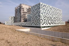 The new International Criminal Court The Hague Stock Photos