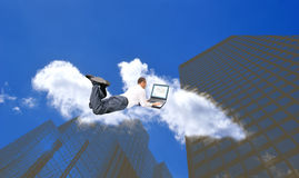 New internet technology. Generation professional engineer designer new internet technology Stock Images
