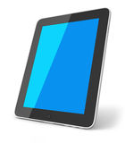 The new ipad. Black on white background Royalty Free Stock Photo
