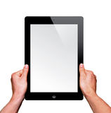 A new Ipad on hand Stock Images