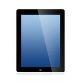 The New Ipad (Ipad 3) Isolated on white background Stock Photos
