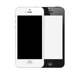 New IPhone 5 black and white color from Apple royalty free stock photography