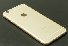 New iPhone 6 Gold Stock Images