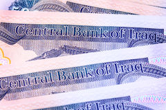 New Iraqi Dinar Royalty Free Stock Photo