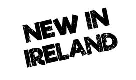 New In Ireland rubber stamp Royalty Free Stock Images