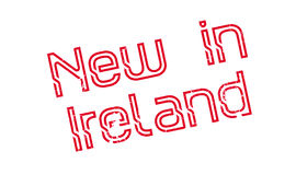 New In Ireland rubber stamp Stock Images