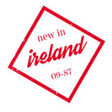 New In Ireland rubber stamp. Grunge design with dust scratches. Effects can be easily removed for a clean, crisp look. Color is easily changed Royalty Free Stock Image