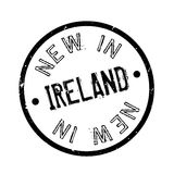 New In Ireland rubber stamp. Grunge design with dust scratches. Effects can be easily removed for a clean, crisp look. Color is easily changed Stock Images