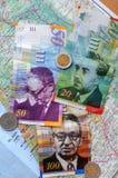 New Israeli shekels currency Stock Image