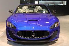 New italian sports car Royalty Free Stock Image