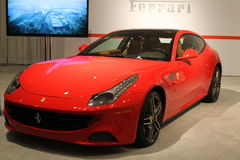 New italian sports car Stock Photo