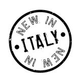 New In Italy rubber stamp Stock Images