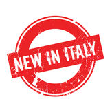 New In Italy rubber stamp Royalty Free Stock Photography