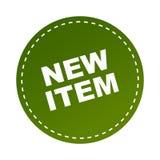 New item sticker. Label - editable vector illustration on isolated white background vector illustration