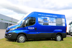 New Iveco  Daily Van Stock Images