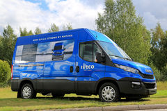 New Iveco  Daily Van Royalty Free Stock Photo