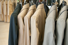 New jackets Stock Photography