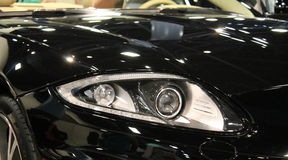New jag headlamp Stock Images