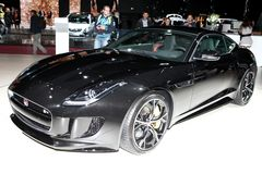 The New Jaguar F-Type Stock Photography