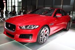 The new Jaguar XE Royalty Free Stock Photo