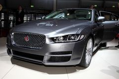 The New Jaguar XF Stock Images