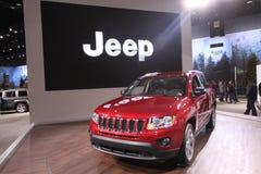 New Jeep Cherokee. Chicago auto show February 2011 Royalty Free Stock Photography