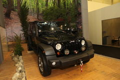 The new Jeep in Istanbul Autoshow Stock Image