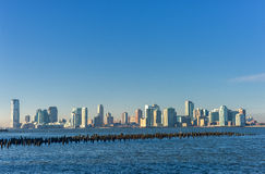 New Jersey Across the Hudson River. View from New York Side. Stock Photography