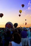 New Jersey Ballooning Festival Stock Images