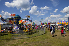 New Jersey Ballooning Festival in Whitehouse Station stock photo