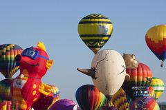 New Jersey Ballooning Festival in Whitehouse Station Stock Images