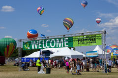 New Jersey Ballooning Festival in Whitehouse Station Stock Photography
