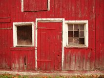 New Jersey Barn. Old red barn found in Hunterdon County, New Jersey stock photo