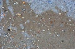New jersey Bay sand Royalty Free Stock Photos