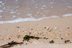 New jersey Bay sand Royalty Free Stock Photography