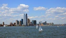 New Jersey City skyline Stock Photo