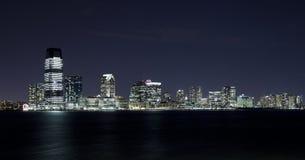 New Jersey in de nacht Royalty-vrije Stock Afbeelding