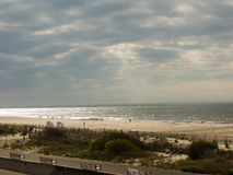 New Jersey de plage de Cape May images stock