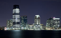 New-Jersey in der Nacht Stockfotografie