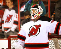 New Jersey Devils Franchise Goalie Martin Brodeur Stock Photography