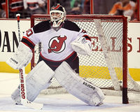 New Jersey Devils Franchise Goalie Martin Brodeur Royalty Free Stock Photos