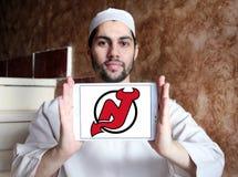New Jersey Devils ice hockey team logo Stock Photo