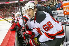 New Jersey Devils right wing Jaromir Jagr Royalty Free Stock Photography
