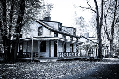 New Jersey History - Historic Houses of Feltville Royalty Free Stock Images
