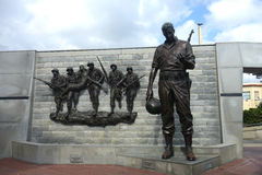 New Jersey Korean War Memorial Royalty Free Stock Photo