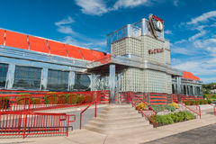 New Jersey occidental de wagon-restaurant de parc images stock