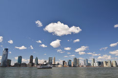 New Jersey over Hudson Stock Photography