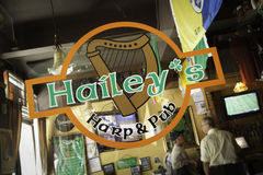 New Jersey Pubs - Hailey's, Metuchen Royalty Free Stock Photo