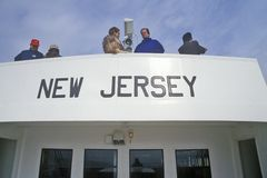 New Jersey Sign Royalty Free Stock Images